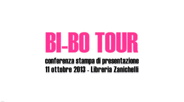 La conferenza stampa di presentazione del progetto BI-BO TOUR.