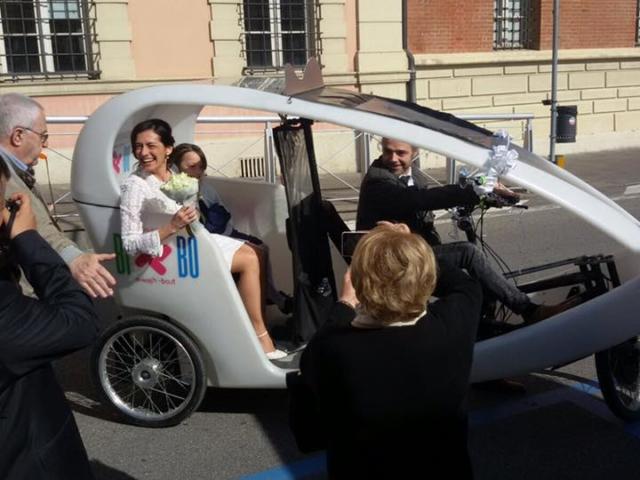 Il BI-BO al matrimonio di Stefania